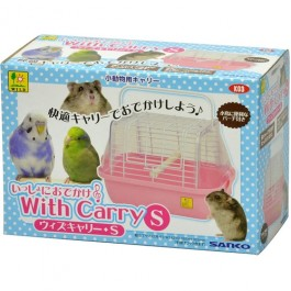 Wild Sanko Carry for Small Animals Pink S (K03)