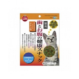 MARUKAN CRUNCHY SNACK FOR CATS - CHICKEN FLAVOR 80G [CT54]
