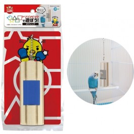 Marukan Wood Toy Boxing for Birds (MB113)