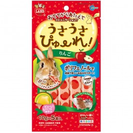 Marukan Apple Flavour Puree for Small Animals 10gx5 (ML187)