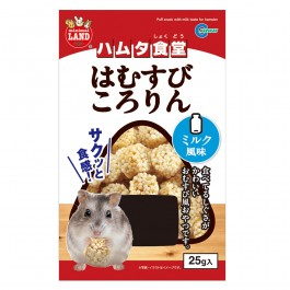 Marukan Puff Snack with Milk for Hamster 25g (ML27) NEW
