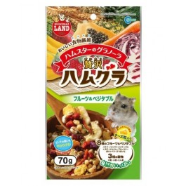 GRANOLA WITH FRUIT & VEGETABLE FOR HAMSTER 70G