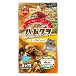 GRANOLA WITH NUTS & SEEDS FOR HAMSTER 70G [ML56]