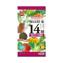 Marukan Diet Food for Guinea Pig with14 Kinds of vegetables 550g (ML61)