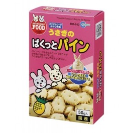 Marukan Rabbit Pineapple Sandwich 50g (MR552)