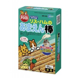 Marukan Cheese & Vegetables Stick for Small Animals 55g (MR559)