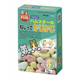 Marukan Cage attachable Fruits Flavour Biscuits for Hamsters (MR630)