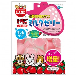 Marukan Strawberry Milk Jelly for Small Animals 16gx14 (MR684)