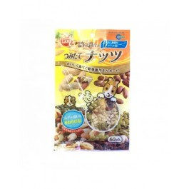 MARUKAN NUTS MIXED FOR SMALL ANIMALS 60G [MR823]