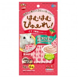 Marukan Strawberry Flavored Puree for Hamsters 5g x 6 (MR845)