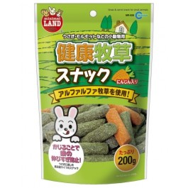 MARUKAN GRASS & CARROT SNACK FOR SMALL ANIMALS 200G (MR928)