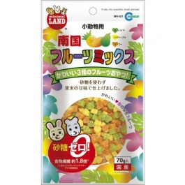 MARUKAN FRUIT MIX SNACK FOR SMALL ANIMALS 70G (MR931)