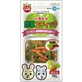 MARUKAN VEGETABLE STICK FOR SMALL ANIMALS 60G (MR934)