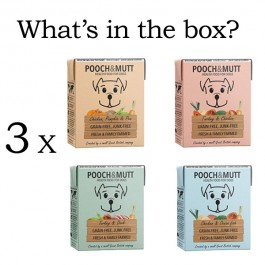Pooch & Mutt Wet Dog Food Multipack 12x375g - (PM591304)