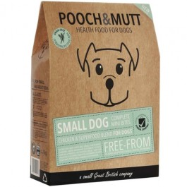 Pooch & Mutt Small Dog Complete Mini Bites Chicken & Superfood Blend for Dogs 1kg [PM591120]