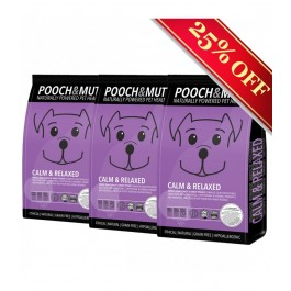 Pooch & Mutt Calm & Relaxed Turkey Grain Free (3 x 2kg) [PM590260P]