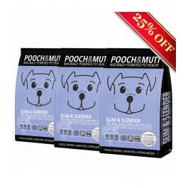 Pooch & Mutt Slim & Slender Chicken & Sweet Potato Grain Free (3 x 2kg) [PM590291P]