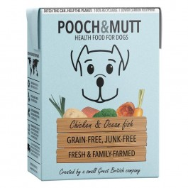 Pooch & Mutt Chicken and Ocean Fish Grain Free Wet Food 375g - (PM591175)