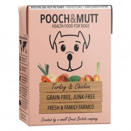 Pooch & Mutt Turkey and Chicken Grain Free Wet Food 375g