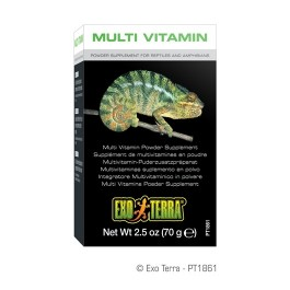 Exo Terra Multi Vitamin Powder Supplement 2.5oz / 70g [PT1861]