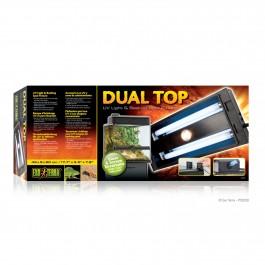 Exo Terra Dual Top UV LIght & Basking Fixture (PT2230)