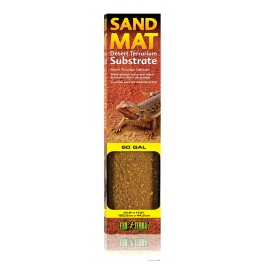 """Exo Terra Sand Mat, 60 Gal Desert Terrarium Substrate - 47.5"""" x 17.5"""" [PT2568]"""