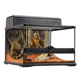 "Exo Terra Natural Terrarium - Advanced Reptile Habitat - Low - 18"" x 18"" x 12"" [PT2603]"