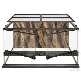 "Exo Terra Natural Terrarium - Advanced Reptile Habitat - Low - 24"" x 18"" x 12"" [PT2604]"
