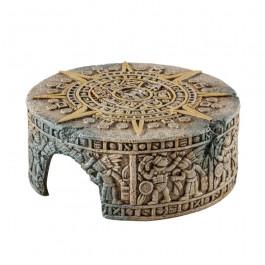 Exo Terra Aztec Calendar Stone Hideout Medium (PT3166) NEW