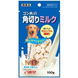 Sunrise Cube Shaped Milk for Dogs 100G