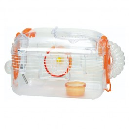 Wild Sanko LillipHut Small Hamster Cage Orange (TM2023)