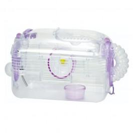 Wild Sanko LillipHut Small Hamster Cage Purple (TM2024)