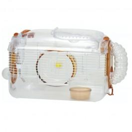 Wild Sanko LillipHut Medium Hamster Cage Brown (TM2033)
