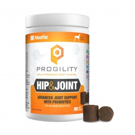 Nootie Progility Hip & Joint with Probiotics 90 Soft Chews (VP90HJ)
