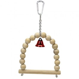 Wild Sanko Bird Toy Swing with Bell (S) (WD872)