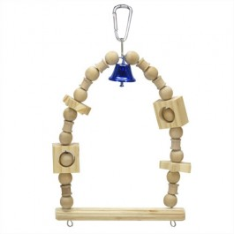 Wild Sanko Bird Toy Swing with Bell (M) (WD874)