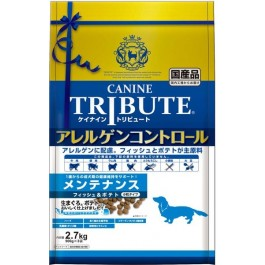 Canine Tribute Allergen Control Fish & Potato For Adult 2.7kg (900g X 3) [114683]