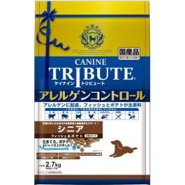 Canine Tribute Allergen Control Fish & Potato For Senior 2.7kg (900g X 3) [114706]